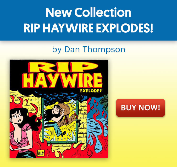 Rip Haywire Book Explodes