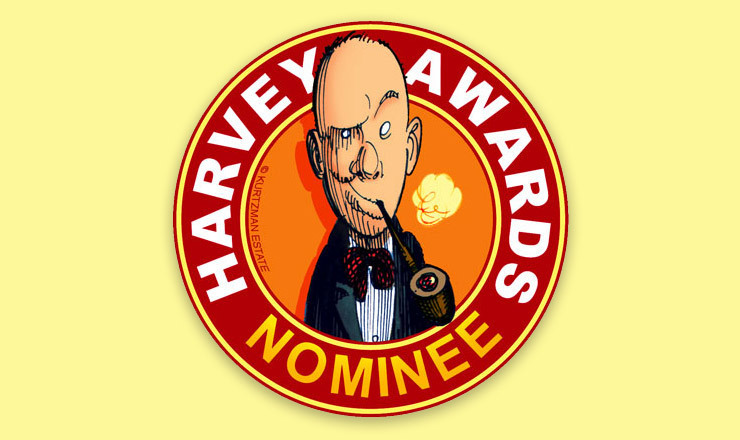 Richard received FOUR 2013 Harvey Award Nominations