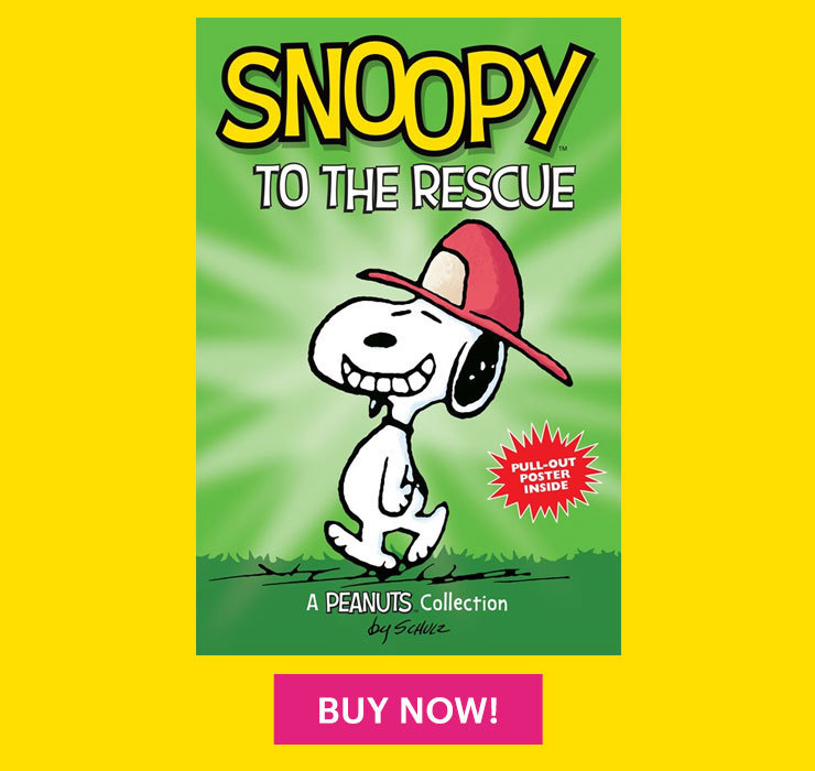 Peanuts Snoopy to the Rescue Book
