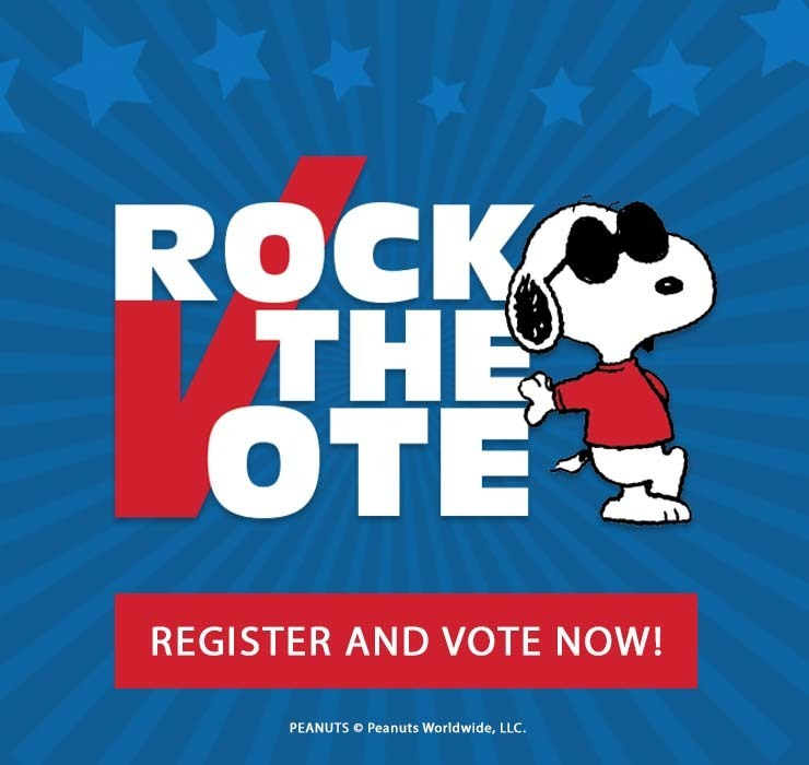 Rock the Vote Peanuts