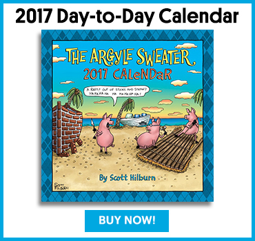 The Argyle Sweater Day to Day Calendar 2017