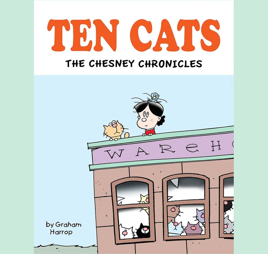Ten Cats For The First Time In Print! Available Now!