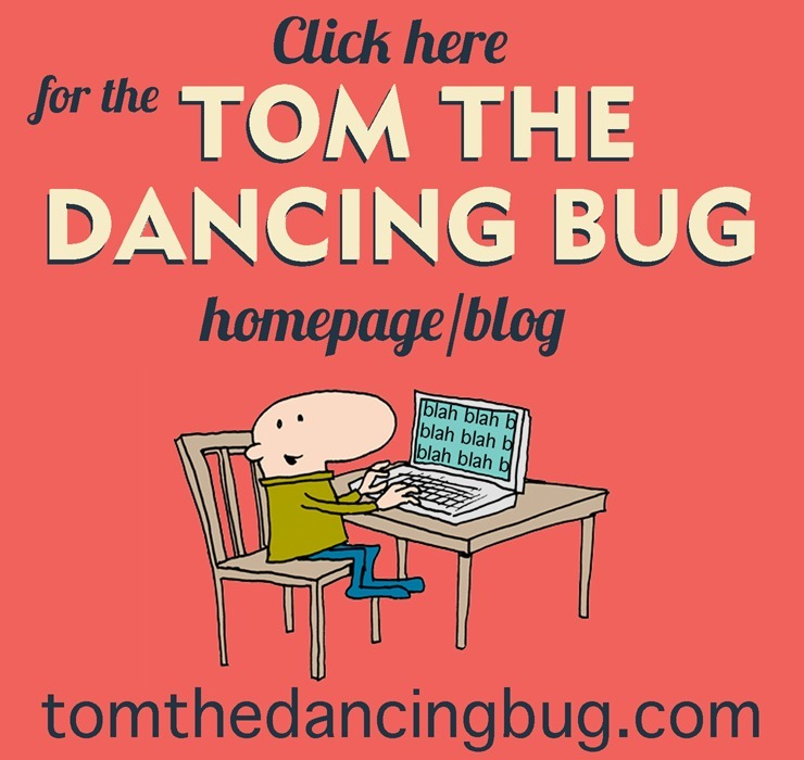 Tom the Dancing Bug homepage website