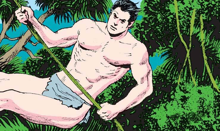 Read Tarzan from the beginning!