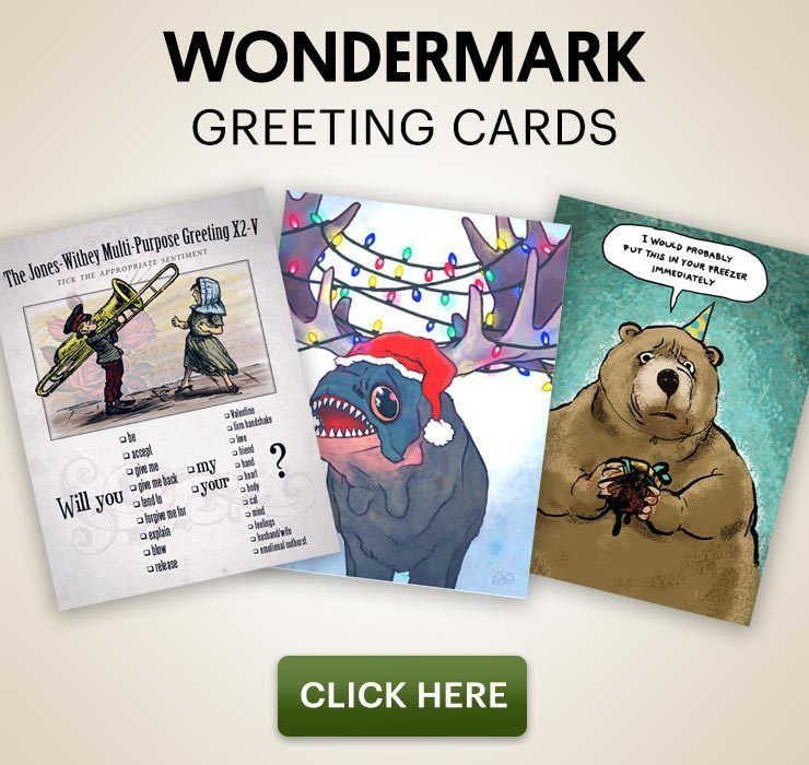 Wondermark Greeting Cards Store