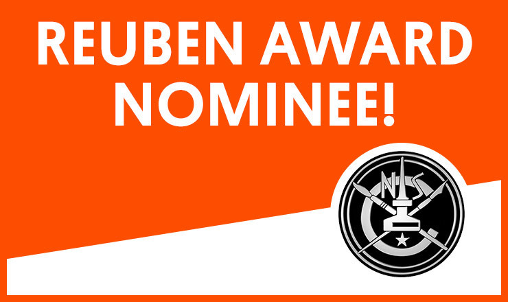 2013 Reuben Award Nominee: Outstanding Cartoonist of the Year