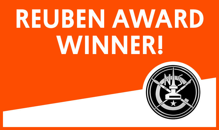 Ruben Award Winner